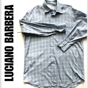 Luciano Barbera Men Italy Button Down Long Sleeve